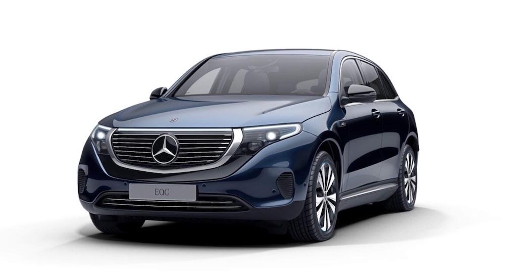 Mercedes-Benz EQC Elektroauto SUV Schweiz