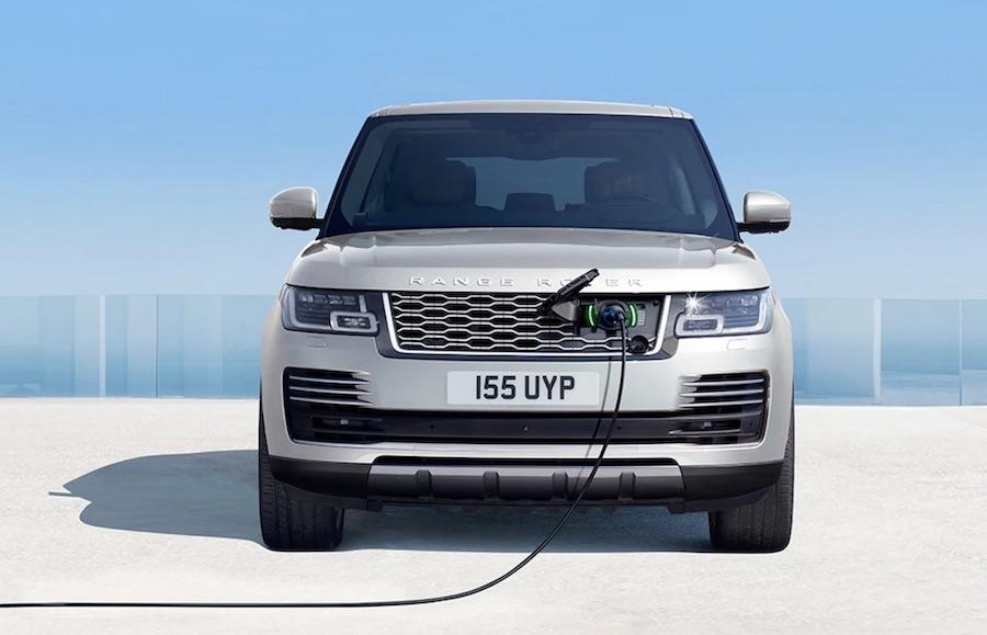 Range Rover Plug-In Hybrid SUV elektroauto  Schweiz